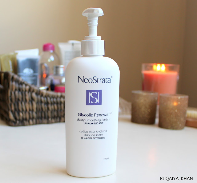 NEOSTRATA Acne Clear, Glycolic Renewal Body Smoothing Lotion and Smoothing Cream Review