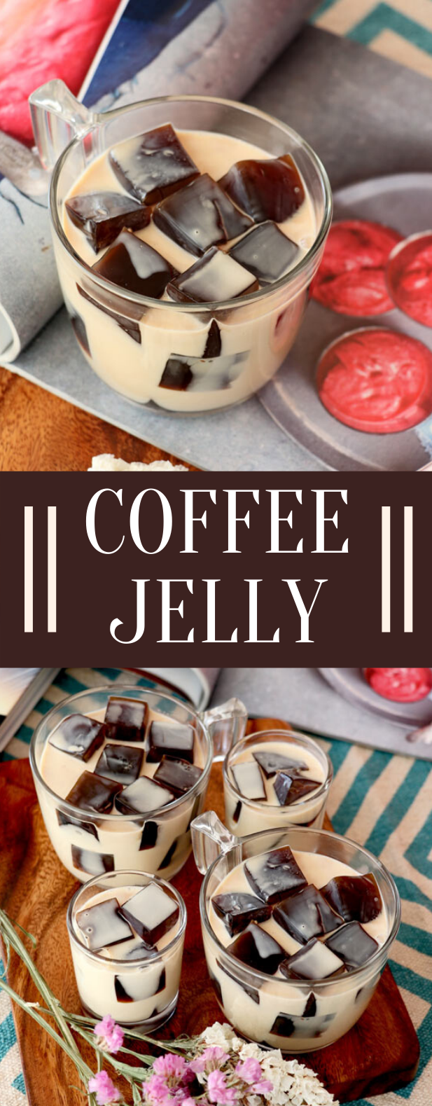 Coffee Jelly #drinks #desserts #sweets #coffee #jelly