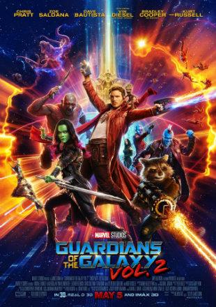 Guardians of the Galaxy Vol. 2 2017 Dual Audio BRRip 720p Hindi English