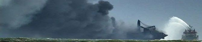 Firefighting On Ship Off Sri Lankan Coast Can Take 'Days', Says Navy Chief