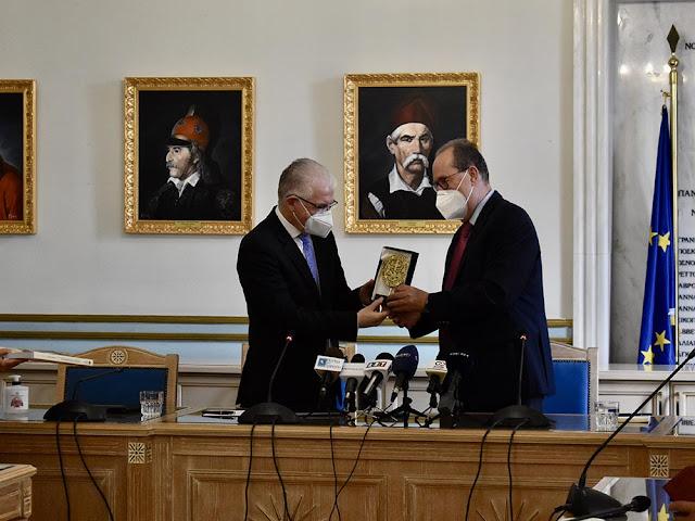 Περιφέρεια Πελοποννήσου: Τι συζητήθηκε στην σύσκεψη με τον Πρόεδρο του ΕΛΓΑ