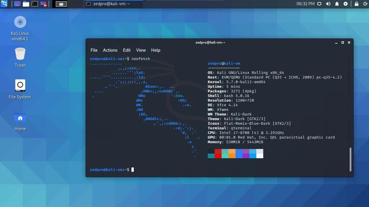 Kali Linux 2021.1: DE, terminal được nâng cấp, tool mới và Kali ARM cho Apple M1