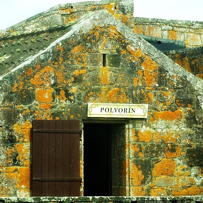 Espaço para o Armazenamento de Pólvora, no Fuerte de San Miguel, Chuy
