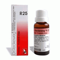 dr. reckeweg r 25 reviews,dr reckeweg r25 side effects,r25 homeopathic medicine in hind