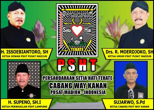 Sujarwo, S.Pd (Ketua Cabang PSHT Way Kanan)