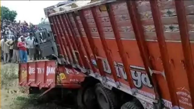 Road Accident:मिनी ट्रक में सवार थे 60 से ज्यादा मजदूर,आठ मौत, मृतकों में से 6 की हुई पहचान