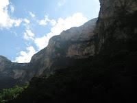 canyon sumidero viaggio in solitaria fai da te
