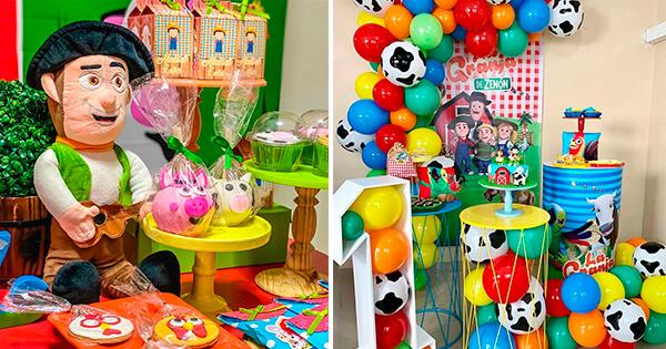 💡 Ideas para Decorar Fiesta de Cumpleaños: La Granja de Zenón