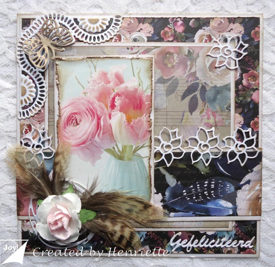 joy crafts verjaardagskaart