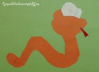 Manualidad-infantil-serpiente