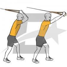 Extension de triceps con soga