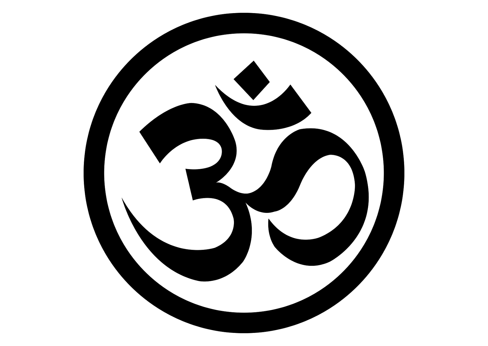 Om Yoga Logo Vector Format Cdr Ai Eps Svg