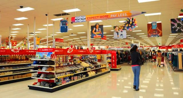 Lojas de departamento em Orlando e Miami
