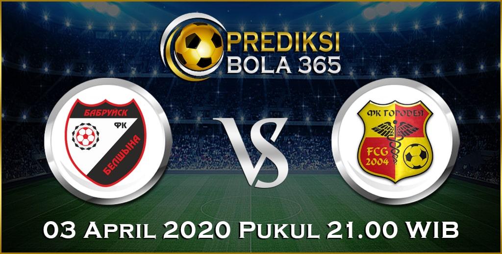 Prediksi Skor Bola Belshina Babruisk vs Gorodeya 03 April 2020