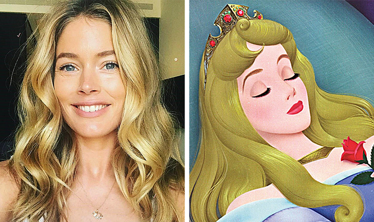 9 Celebrities who resemble some animated characters
