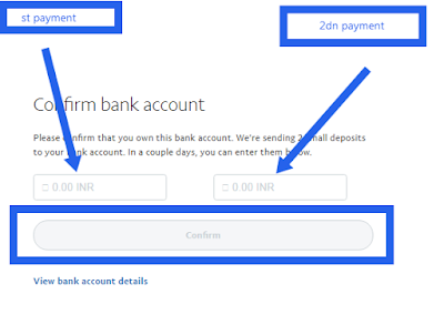 paypal me bank ac add and confirm kaise kare