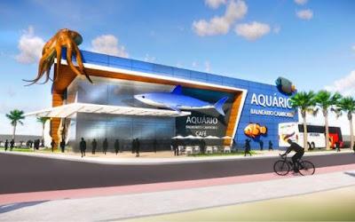 Aquário será construído em Balneário Camboriú