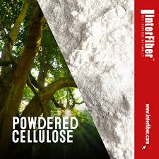 Powdered cellulose occurs as a white or almost white, odorless and tasteless