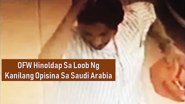 Overseas Filipino workers work overseas for a better income but sometimes, untoward incidents are inevitable. An OFW in Saudi Arabia had been a victim of an armed robber taking the company money as well as his own cash which is allocated for his dialysis treatment.       Ads  Michael Arsolacia, the OFW was working inside their office in Saudi Arabia when a man disguised as a Saudi national entered their office posing as complaining about a certain employee of their office.   According to the statement of the OFW, the man approached him and grabbed a bag containing the shop's money Iqama and other valuables amounting to over SAR 2,000  including his own cash intended for his medication and hemodialysis treatment. The victim tried to recover the bag from the assailant but the man was holding a bladed weapon and threatened the victim using the said knife. The OFW tried to follow him but later retracted upon learning that the suspect was not alone.  Ads          Sponsored Links   The OFW victim is pleading for the Philippine government for help to locate and arrest the suspect. The Department of Foreign Affairs-OUMWA is summoning Arsolacia to their office in order to help him file the appropriate case against the suspect and to give him help as well.  labor Secretary Silvestre Bello III reminded the OFW's that should they have become a victim of any crimes, they should go immediately to the Philippine Overseas Labor Office or the consulate in their host country to seek help. He emphasized that these offices are there to help and protect them.