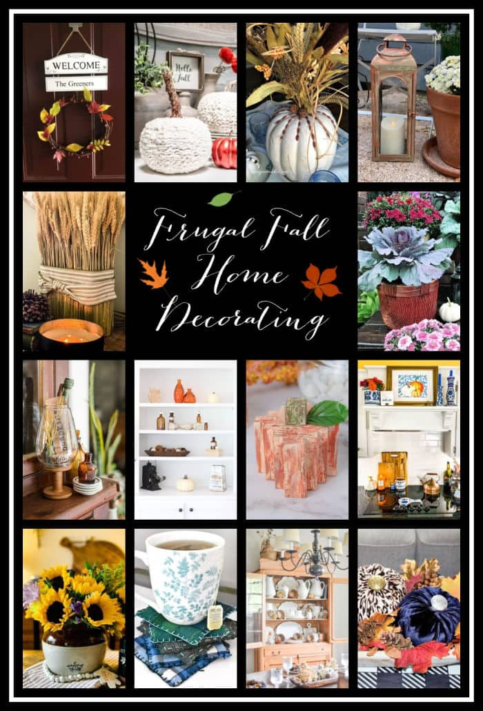 Thrifty Style Team Fall project ideas collage