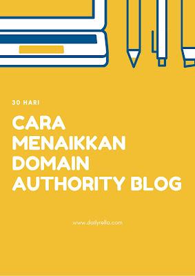 cara menaikkan DA blog