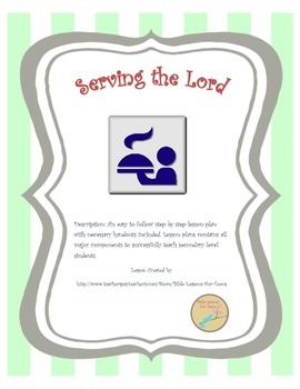 http://www.teacherspayteachers.com/Product/Instant-Bible-Lesson-Serving-the-Church-1176395