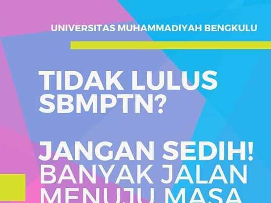 Cara Mendaftar di Universitas Muhammadiyah Bengkulu  2020
