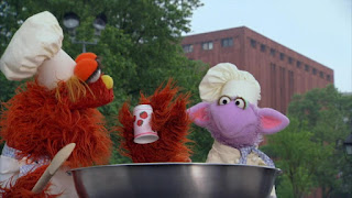Murray and Ovejita Alphabet Cookoff letter y, Sesame Street Episode 4311 Telly the Tiebreaker season 43