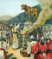 God's people worshiping the Golden Calf