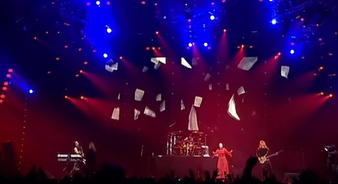 Nightwish Banda de Metal en concierto
