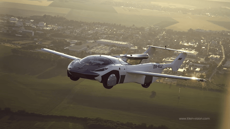 An inventor from Slovakia was able to produce a flying car that can transform into a sport Flying car completes first-ever test flight between airports in 35 minutes!