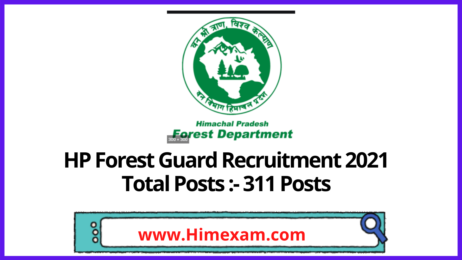 HP Forest Guard Recruitment 2021 @Apply Online Now
