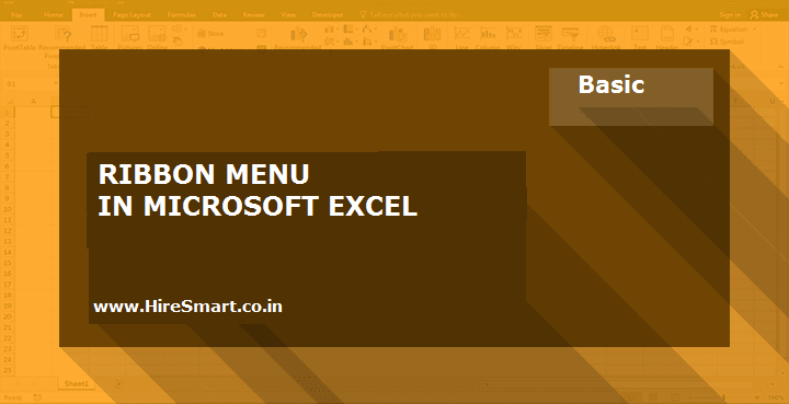 Understanding The Ribbon In Microsoft Excel