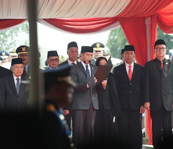 Kesalahan Jokowi Ucap Kalimat Istirja' saat Sambutan Pemakaman Habibie