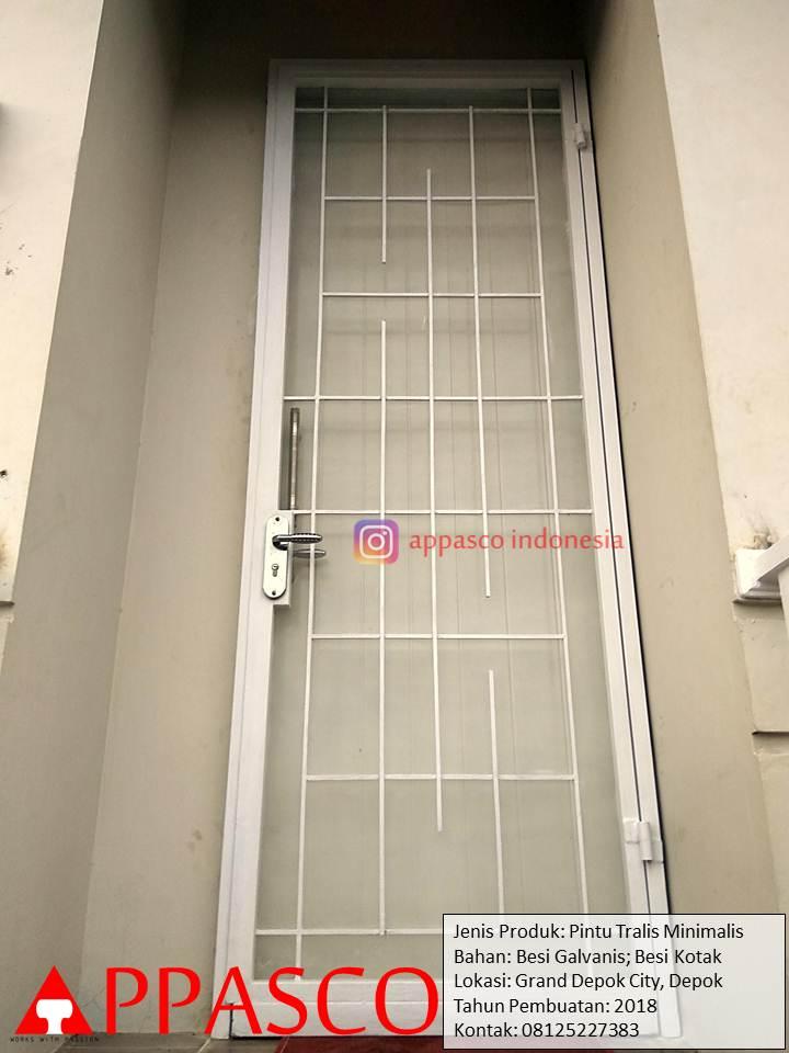 Pintu Teralis Minimalis di Grand Depok City