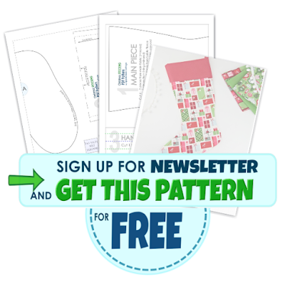 diy christmas stocking pattern for free