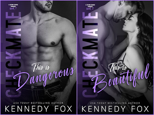 {Double Cover Reveal} Checkmate: This is Dangerous & This is Beautiful by Kennedy Fox
