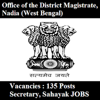 Office of the District Magistrate, Nadia, GP & PS Nadia, freejobalert, Sarkari Naukri, GP & PS Nadia Answer Key, Answer Key, gp and ps nadia logo