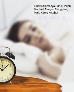 Manfaat Bangun Siang