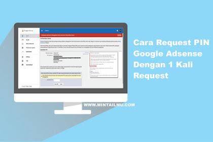 Cara Request PIN Google AdSense Dengan 1x Request