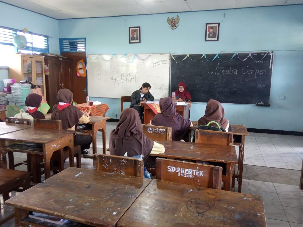 Lomba Literasi SD/MI Sukses Dilaksanakan Di Kecamatan Kertek