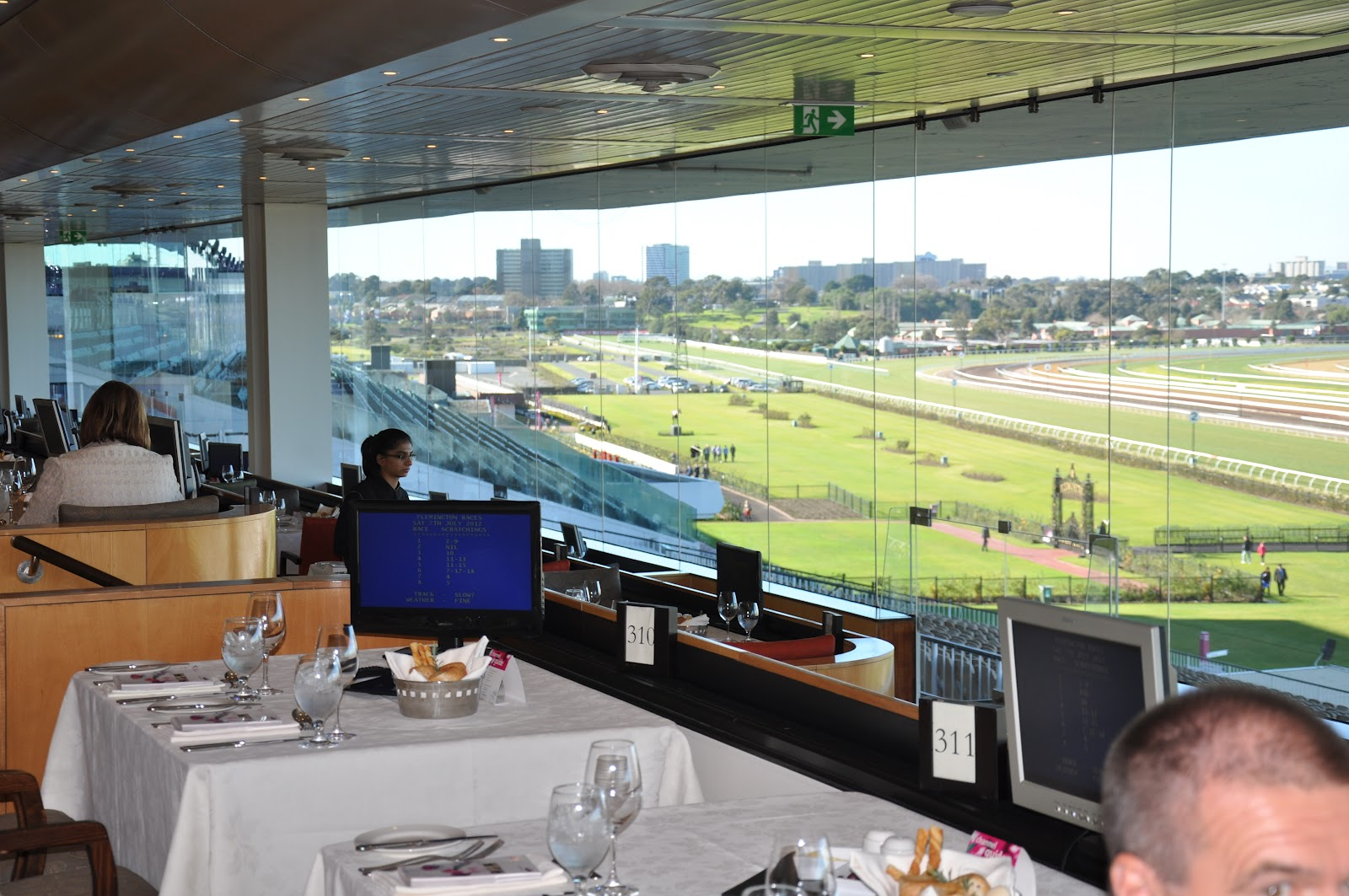 Flemington Racecourse Restaurants