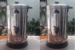 Peminjaman Water Boiler, Dispenser Kopi dan Teh