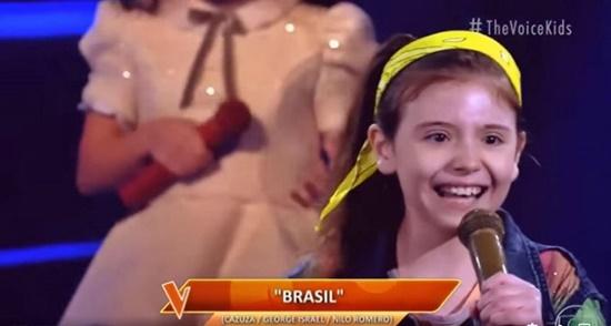 Rio das Ostras passa de fase no The Voice Kids com Sofia Farah
