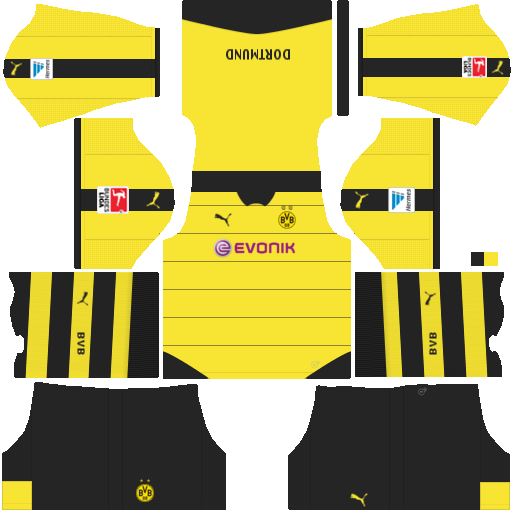 uniformes dream league soccer borussia dortmund. Black Bedroom Furniture Sets. Home Design Ideas
