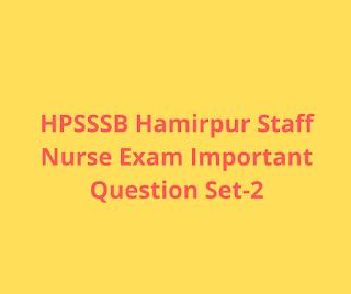 HPSSSB Hamirpur Conductor Exam Important Questions