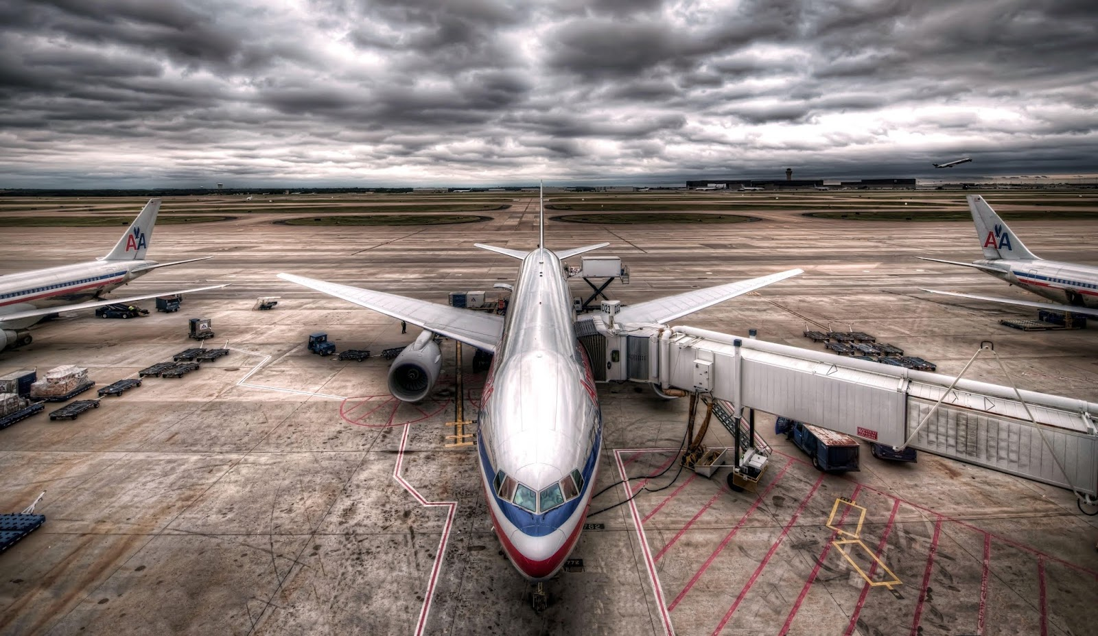 photo Aviation Airplane Passenger Airplanes Boeing 777 HDR Clouds wallpapers