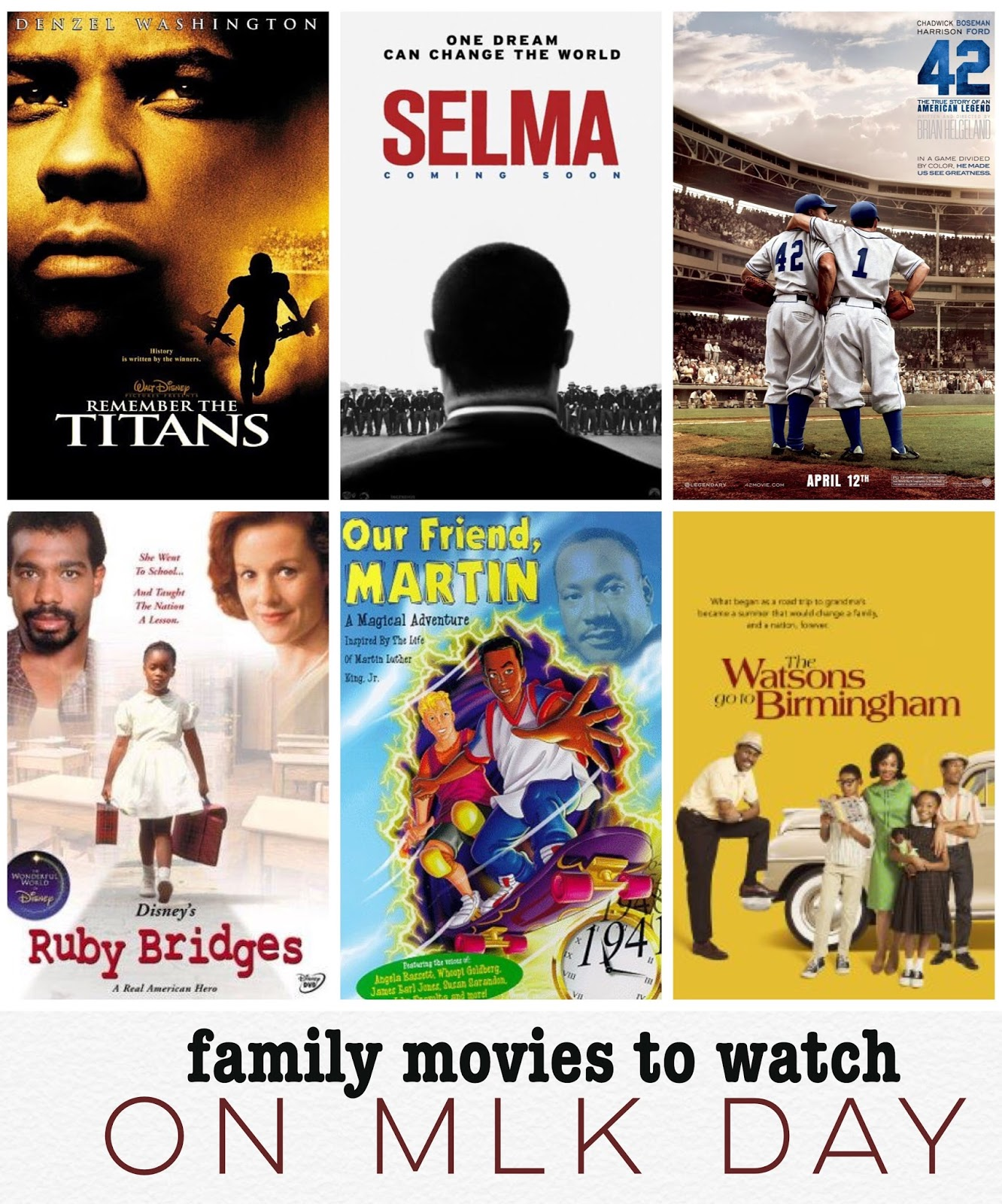 Movies To Watch With Your Kids On Martin Luther King Jr Day Rage Against The Minivan