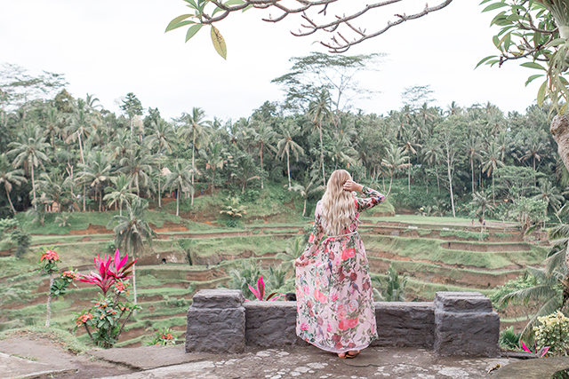 Visiting the Tengalalang rice terraces in Ubud, Bali // A blogger's guide to Bali