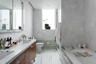 صورة حمام عصري من تصميم أحمد أبو زنات